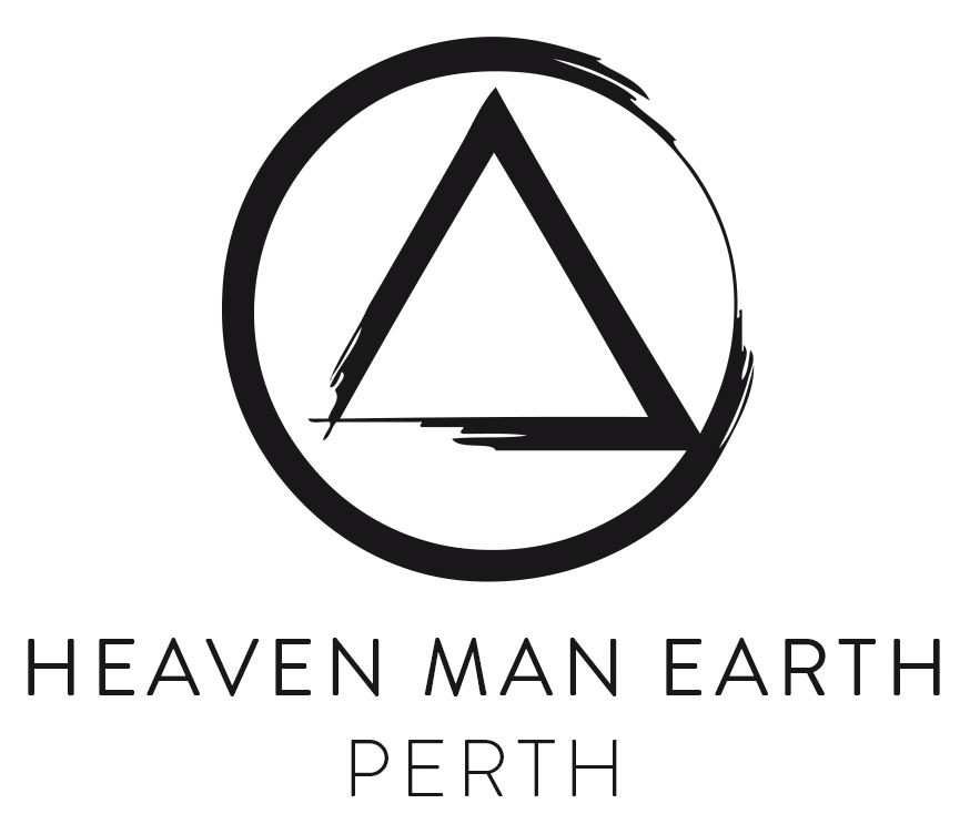 Heaven Man Earth Perth Logo